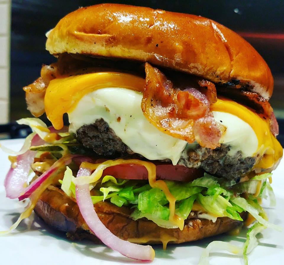 Grill Stock Burger